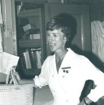 Image of Marjorie Packard, anesthesia nurse, in Jamaica Voyage IX.