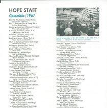 Image of HOPE News Vol 5. No.2/1967 Pf. 3