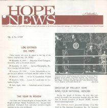 Image of HOPE News Vol 5 No. 4/1967  Page 1