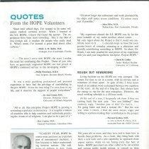 Image of HOPE NEWS Vol 7 No l/1969 Pg 7