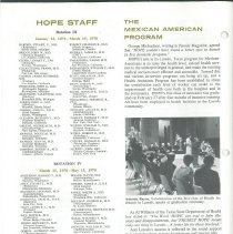 Image of HOPE News vol 8 no 1/1970 Page 4