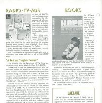 Image of HOPE News vol 8 no 1/1970 Page 6