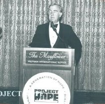 Image of Governor John J. Gilligan Banquet Speaker, 1978 Reunion.
