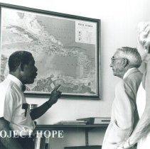 Image of Dean of U of WI, Percival Brundage, and Mrs Brundage in Jamaica IX.