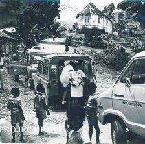 Image of Hope Van arrives in small village in Jamaica Voyage IX.