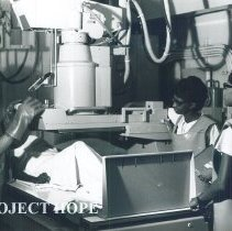 Image of Unknown x-ray aboard the SS HOPE in Jamaica Voyage IX.