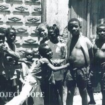 Image of Jamaican children in Jamaica Voyage IX.