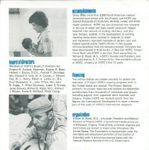 Image of Project HOPE Fact Sheet ca. 1980 page 2