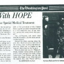 Image of From Armenia With HOPE February 10, 1989 page 1