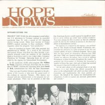 Image of HOPE/NEWS 8 & 9 1966 Page 1