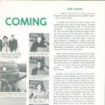 Image of Hope News January/February 1967  Page 3