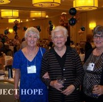 Image of Mrs Martin Lees,  Nancy Ranglia, Joanne Jene at the 2008 Reunion in DC.