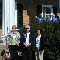 Image of Irene Dorville, Carla Phillips, and Mieyko Teranishiat  2008 reunion in DC.