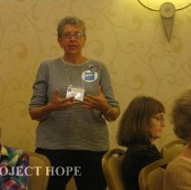 Image of Penny Hatcher at the 2008 Reunion in DC.