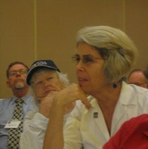 Image of Bob Morrow, unknown, unknown at the 2008 Reunion in DC.