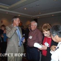 Image of Bill Walsh Jr, Bill Peters, unknown, Naomi Nakashima 50th in 2008 in DC.
