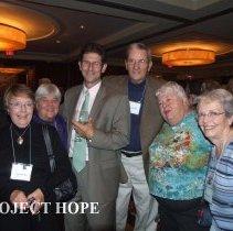Image of Joyce Brown,Grace Tucker, Tom Walsh, Pete Devers, Mo Devers, unknown