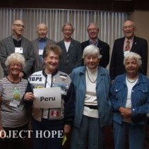 Image of Peru staff at the 50th reunion in 2008 in DC.