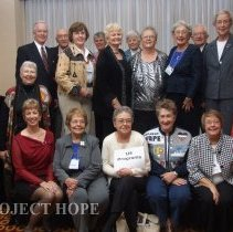Image of US Program staff at the 50th reunion in 2008 in DC.
