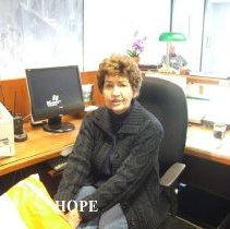 Image of Gay at HOPE Center during the 50th reunion in 2008 in DC.