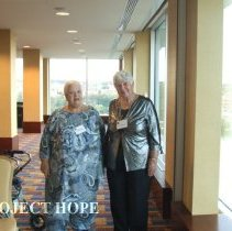 Image of Unknown and Carol Fredriksen at 50th reunion in 2008 in DC.