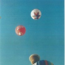 Image of Ballon festival at 1993 reunion in Albuquerque.