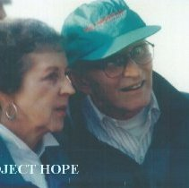 Image of John MacGregor and Ann MacGregor at 1993 reunion in Albuquerque.