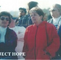 Image of Ceile Fontaine, Claire Renehan and Dolores Delcoma at 1993 Albuquerque.
