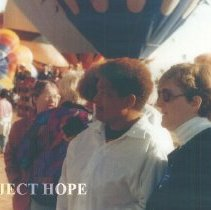 Image of Linda Nims, Sister Thelma Mitchell, Edie McKenna at 1993 Albuquerque.