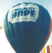Image of Project HOPE balloon at the 1993 reunion in Albuquerque.