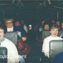 Image of Dolores Delcoma, Ceile Fontaine & unk  Edie McKenna at 1993 in Albuquerque.