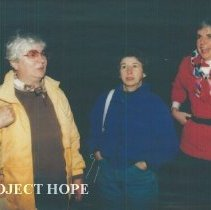 Image of Unknowns and Ada Schoch at the 1993 reunion in Albuquerque.