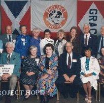 Image of Indonesia/Vietnam staff at the 1993 reunion in Albuquerque.