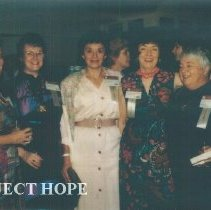 Image of Unknowns with Mo Devers at the 1993 reunion in Albuquerque.