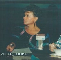 Image of Ann Ledford at the 1993 reunion in Albuquerque.