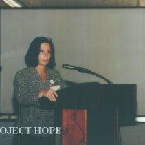 Image of Gail Wilensky at 1993 reunion in Albuquerque