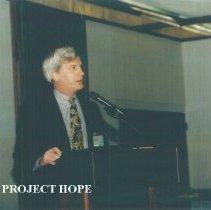 Image of Robert Crone at 1993 reunion in Albuquerque