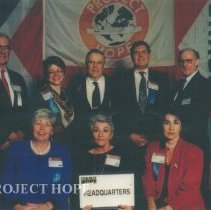 Image of Heaquarter staff at the 1993 reunion in Albuquerque.