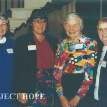 Image of Carol Fredriksen, Joanne Jene, Eunice Childs and Lee Olive Harrison