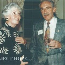 Image of Helen Walsh and Eldon Ellis