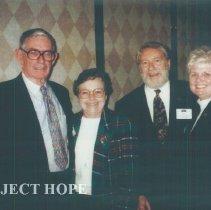 Image of Hal Royaltey, Judy Berner, Wally Chipman and Nancy Savage