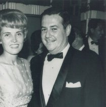 Image of Dr. and Mrs. William B. Walsh at 1964 HOPE Ball at Shoreham Hotel.