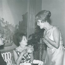 Image of Mrs. Walsh at 1964 HOPE Ball.