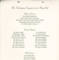 Image of Invitation to the 1964 HOPE Ball.