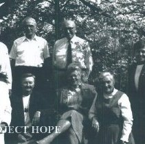 Image of Alumni board meeting at HOPE Center.