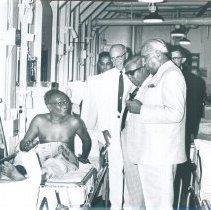 Image of Dudley Senanayake, Prime Minister and E.L. Senanayake, Minister of Health