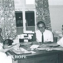 Image of Ethel Black, James Howell and William Peters Admissions in Colombo Hosp.