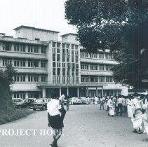 Image of Kandy General Hospital in Ceylon.