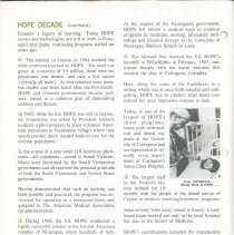 Image of HOPE News vol 8 No 2/1970 Pg 2