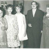 Image of Virginia Sanchez, Faye Futrell, Sandra Deerhake, Jorge de Vinates, Sister F